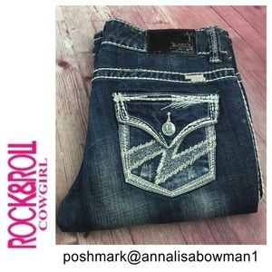 🐞Rock & Roll CowGirl Bootcut jean size 29